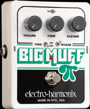 Electro Harmonix Big Muff PI with Tone Wicker Guitar FX Pedal Stomp Box